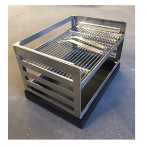 RVS inzet BBQ rooster