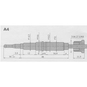 Thermokoppel SIT A4 kop
