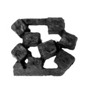 Gloeikolen - houtsets gaskachel